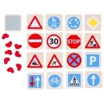 goki Гра мемо - Дорожні знаки