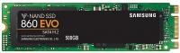 Samsung 860 EVO SATA III M.2 [MZ-N6E500BW]