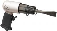 Topex 74L331 Молоток отбойный пневматический, 4500 удар-1, 6-8 бар, 140 л / мин., Набор зубил, кейс, 1.7 кг