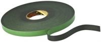 3M Стрічка на спіненій основі універсальна, рулон 19мм х 5м, чорна (KT777307879)