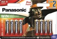 Panasonic PRO POWER AA [BLI 8 ALKALINE Cirque du Soleil]