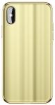 Baseus Glass Sparkling для iPhone X [Gold (WIAPIPHX-KI0V)]