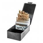 Graphite Свердла по металу HSS-TiN 1.0-13.0 мм, набір 25 шт.