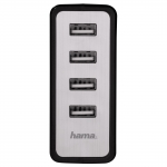 Hama Мережевий зарядний пристрій USB