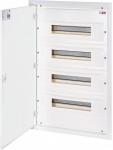 ETI Щит металлопластиковый ERP 18-4 (внутренний, 4х18мод, дверь белая, IP40)