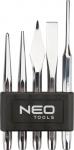 Neo Tools 33-060 Набiр iнструментiв (зубил i долот) 5шт.*1 уп.