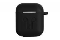 2E Pure Color Silicone Imprint (3.0mm) для Apple AirPods [2E-AIR-PODS-IBPCSI-3-BK]