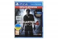PlayStation Гра Uncharted 4: Путь вора [Blu-Ray диск]