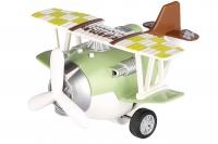 Same Toy Літак металевий інерційний Aircraft (зелений)