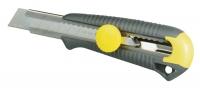 Stanley 1-10-418 Ніж Dynagrip MPO 18мм, сегментироване лезо 165мм метал. направляюча, фіксатор