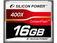 Silicon Power 400X Compact Flash Card [SP016GBCFC400V10]