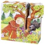 goki Кубики дерев'яні - Час казок