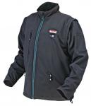Makita DCJ200ZL Куртка з підігрівом, акумуляторна, Li-ion, 18 В CXT, L, 1,57 кг