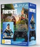 PlayStation Геймпад бездротовий Dualshock v2 Jet Black (Fortnite)