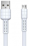 Remax Armor Series MicroUSB Data/Charge [RC-116M-WHITE]