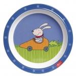 sigikid Тарілка Racing Rabbit