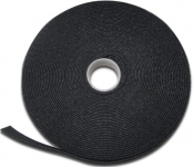 Digitus Стрічка-липучка для фіксації та жгутування, рулон 10м, 15х2.6мм