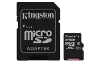 Kingston microSD C10 UHS-I Canvas Select [SDCS/64GB]