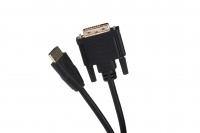 2E Кабель HDMI TO DVI 24+1, Molding Type, 1.8m, Black
