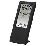 HAMA Термометр / гігрометр TH 140, з індикатором погоди [black]