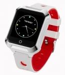 GoGPSme Телефон-годинник з GPS трекером GOGPS М02 [M02WH]