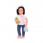 Our Generation Набір DELUXE - Лялька Еверлі з книгою і аксесуарами для боулінгу (46 см)