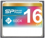 Silicon Power 600X Compact Flash Card [SP016GBCFC600V10]