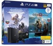 PlayStation 4 Pro 1Tb Black  (God of War & Horizon Zero Dawn CE)