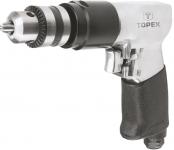 Topex 74L220 Дрель пневматическая 10 мм, 1800 об.-1, 6-8 бар, 115 л/мин., обороты право/лево, вес 1.4 кг, CE