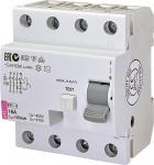 ETI Реле диференціальне (УЗО) EFI-4 16/0,1 тип AC (10kA)