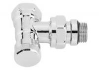 Danfoss Запірний клапан RLV-CX, кутовий, хром