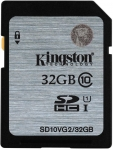 Kingston Class 10 UHS-I SDHC/SDXC [SD10VG2/32GB]