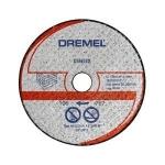 Dremel Відрізний круг для металу і пластмаси, абразивний, O 77 мм, посадка 11,1 мм (3 шт. В упаковці)