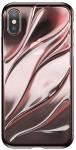 Baseus Water modelling для iPhone X [Transparent Pink (WIAPIPHX-SH04)]