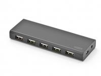 Ednet 10 порт, USB 2.0, активный с БП