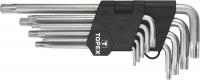 Topex 35D961 Ключi шестиграннi Torx T10-T50, набiр 9 шт.*1 уп.