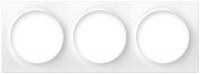 Fibaro Рамка для фурнітури Walli - на 3 пости, біла