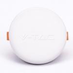 V-TAC Панель стельова врізна LED (кругла) [SKU-727]