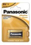 Panasonic ALKALINE POWER 6LF22 BLI 1 ALKALINE