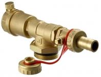 Danfoss Торцева секція FHF-EM з ручним пристроєм для видалення повітря