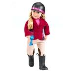 Our Generation Набір DELUXE - Лялька Лілія Анна з книгою (46 см)