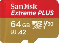 SanDisk Extreme Plus microSDXC UHS-I A2 V30 U3 Class10 [SDSQXBZ-064G-GN6MA]