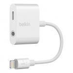 Belkin Переходник Lightning to 3.5 mm audio + power