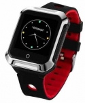 GoGPSme Телефон-годинник з GPS трекером GOGPS М02 [M02BK]