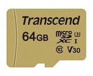 Transcend microSDXC/SDHC 500S [TS64GUSD500S]