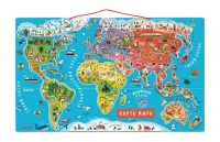 Janod Магнітна карта світу (рос.мова)