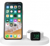 Belkin Qi Wireless iWatch( 1A) + iPhone (7.5W) + USB A 5W/1A [White]
