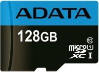 ADATA Premier microSDHC/SDXC UHS-I Class10 [AUSDX128GUICL10A1-RA1]