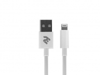 2E Кабель USB 2.4 to Lightning Cable Molding Type [2E-CCLAB-WT]
