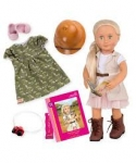 Our Generation Набір DELUXE - Лялька Сафарі з книгою (46 см)